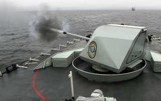 Палубнобашенная артиллерийская установка Bofors Mk2 (SAK-57) (Швеция)