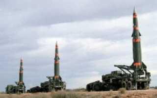 Баллистическая ракета средней дальности MGM-31C Pershing II (США)