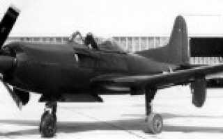 Опытный истребитель Ryan XF2R «Dark Shark» (США)