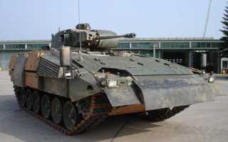 Экспериментальный танк Krauss-Maffei PUMA PT1 (Германия)