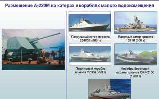 57-мм опытная корабельная артиллерийская установка А-220 (СССР)