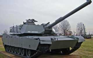 Опытный основной танк XM1 (США)