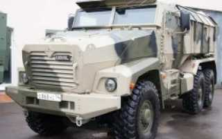 Бронеавтомобиль Урал-63095 и Урал-63099 «Тайфун» (Россия)