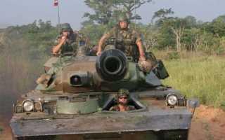Боевая разведывательная машина AMX-10RC (Франция)