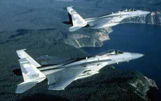 Истребитель F-15A Eagle (США)