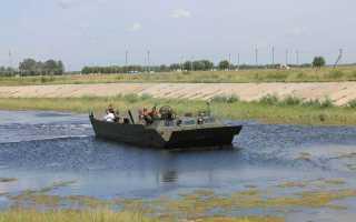 Гусеничный плавающий транспортер ПТС-4 (Россия)