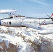 Истребитель F-84 Thunderjet (США)
