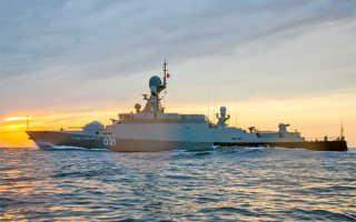 Малые ракетные корабли проекта 21631 «Буян-М» (Россия)