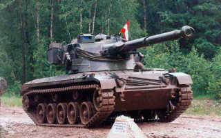 Легкий танк SK105 Kurassier (Австрия)