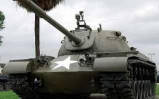 Средний танк M48 General Patton III (США)