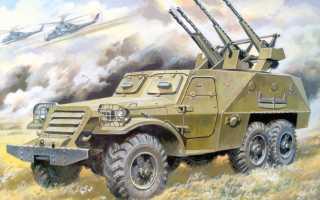 Зенитная самоходная установка БТР-152А с ЗТПУ-2 (СССР)