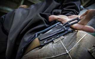 Семь правил ношения оружия