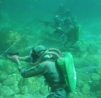 Подводный пистолет SSU (Югославия)