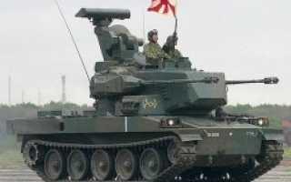 Зенитная самоходная установка Type 87 (Япония)
