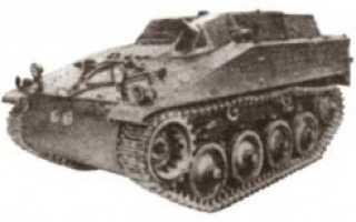 Бронетранспортёр Hotchkiss TT6-52 (Франция)