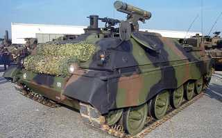 Самоходный ПТРК Raketenjagdpanzer Jaguar-2 (Германия)