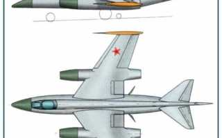 Проект реактивного самолёта разведчика Як-ФР (СССР)