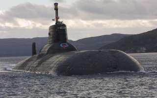 Подводный крейсер Проект 941 «Тайфун» (СССР)
