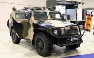 Бронеавтомобиль ГАЗ-2330 «Тигр» (Россия)