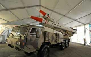 Опытная баллистическая ракета RSA-4 (ЮАР)