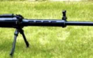 Опытная снайперская винтовка Istiglal (Азербайджан)
