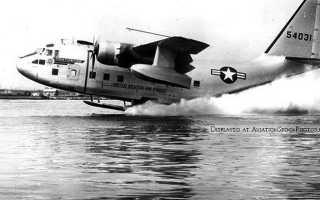 Военно-транспортный самолёт C-119 Flying Boxcar (США)