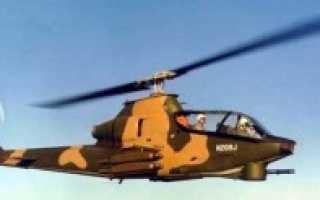 Вертолет огневой поддержки AH-1 Huey Cobra (США)