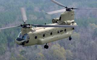 Транспортно-десантный вертолет CH-47 Chinook (США)