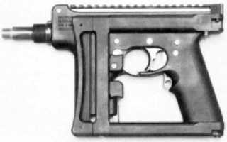 Пистолет-пулемёт Bushman IDW (Великобритания)