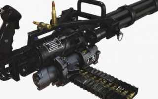 Пулемёт M134 Minigun / GAU-2/A (США)
