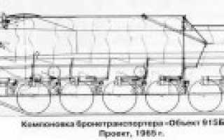 Опытный бронетранспортер «Объект 915БТР» (СССР)