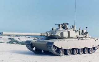 Основной танк EE-T1 Osorio (Бразилия)