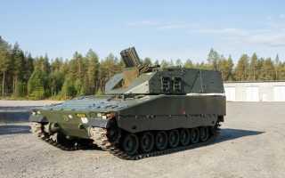 Самоходный миномёт AMOS (Финляндия)