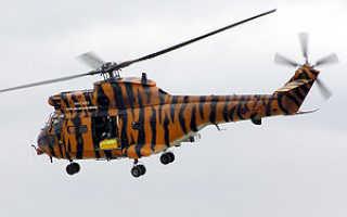 Транспортно-десантный вертолёт SA-330 «Puma» (Франция)