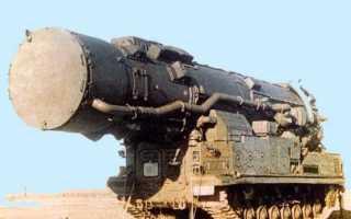 Ракетный комплекс средней дальности 15П696 с ракетой 8К96 РТ-15 (СССР)