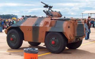 Легкий разведывательный бронеавтомобиль EE-3 Jararaca (Бразилия)