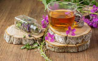 Домашние напитки выживальщика: Иван-чай