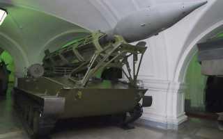 Самоходная пусковая установка 2П2 ракетного комплекса 2К1 «Марс» (СССР)