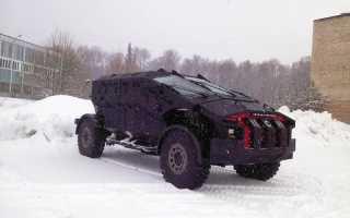 Опытный армейский бронеавтомобиль «Каратель» (Россия)