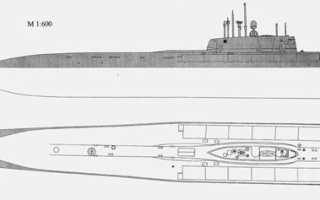Подводная лодка Проект 949 «Oscar I» (СССР)