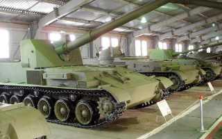 Опытная самоходная установка истребитель танков СУ-152 «Объект 120» (СССР)