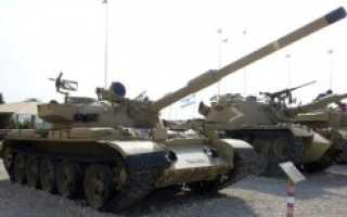 Основной боевой танк Tiran (Израиль)