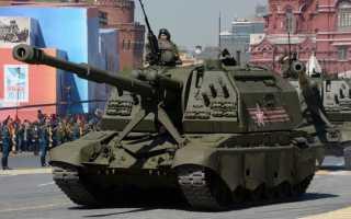 155-мм самоходная гаубица 2С19М1-155 «Мста-С» (Россия)