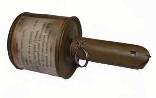 История отечественных ручных гранат