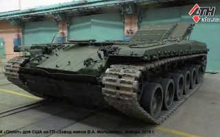 Основной боевой танк Т-84 «Оплот-М» («объект 478ДУ10») (Украина)