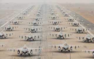 Тактический истребитель F-16A Fighting Falcon (США)