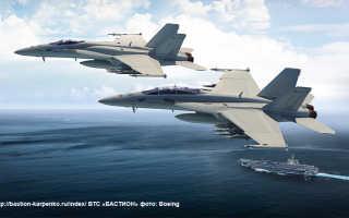 Истребитель-бомбардировщик F/A-18E/F «Super Hornet» (США)
