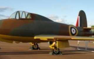 Экспериментальный истребитель Gloster E.28/39 Pioneer (Великобритания)