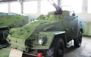 Зенитная самоходная установка БТР-40А с ЗТПУ-2 (СССР)