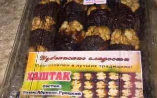 Меню выживальщика: Хаштак — простое блюдо из сухофруктов